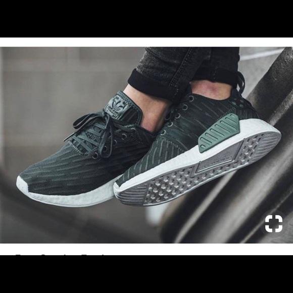 adidas nmd utility green